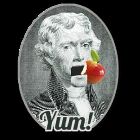 Thomas Jefferson Loved to Eat