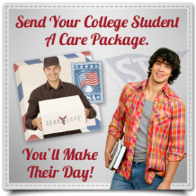 Send a College Student a Care Package from Carepackage.com
