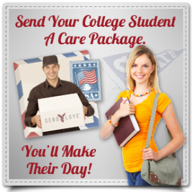 Send a Care Package to Your College Student Away From Home