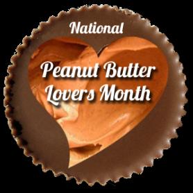 November is Peanut Butter Lover's Month